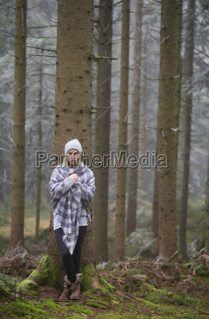 austria sad female teenager leaning at