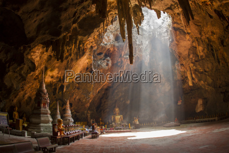 thailand phetchaburi interior view of the