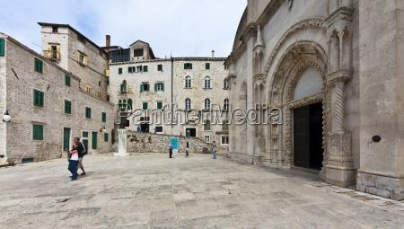 croatia dalmatia sibenik sveti jakov cathedral