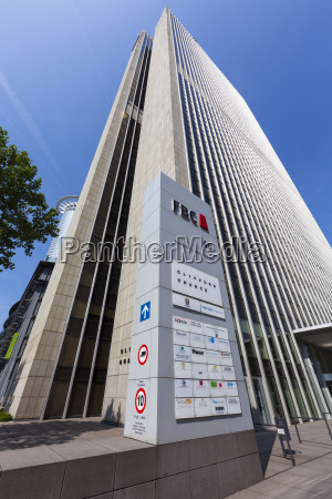germany hesse frankfurt financial district fbc