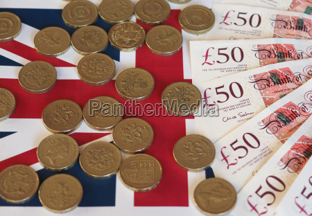 pound coins and notes united kingdom