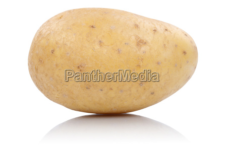 potato vegetable cut out isolated