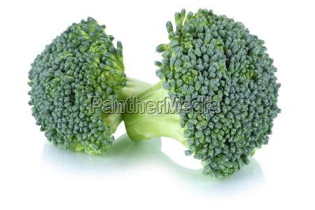 broccoli broccoli isolated on a white