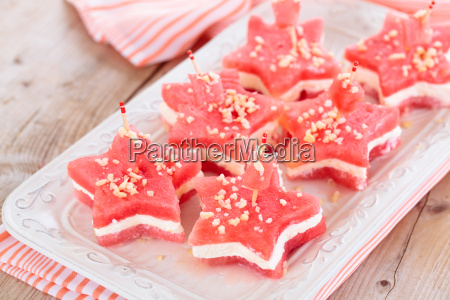 star shaped appetizers