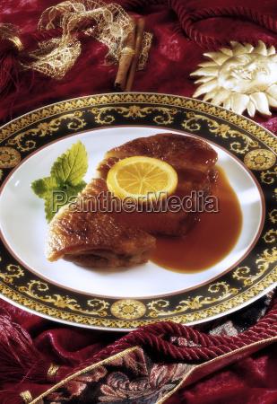 canard a lorange