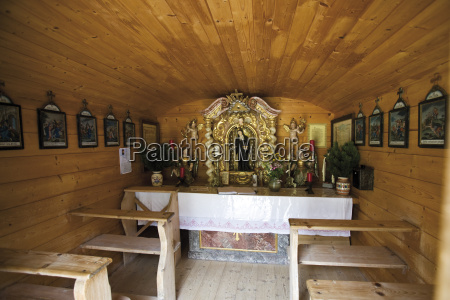 austria tyrol chapel interior