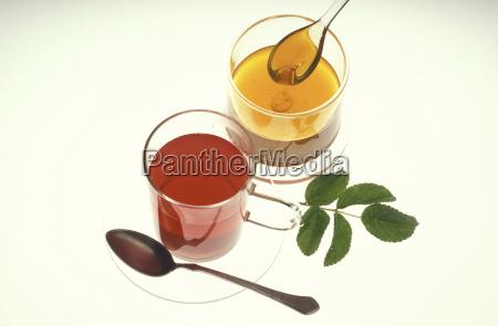 tee with honey