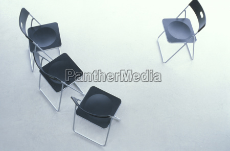 chairs elevated view