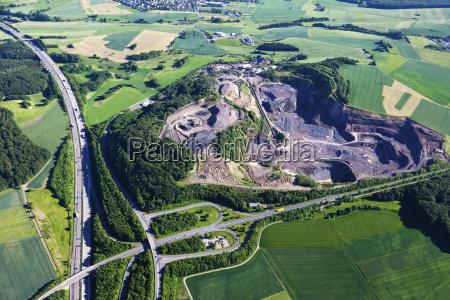 germany rhineland palatinate eifel aerial view