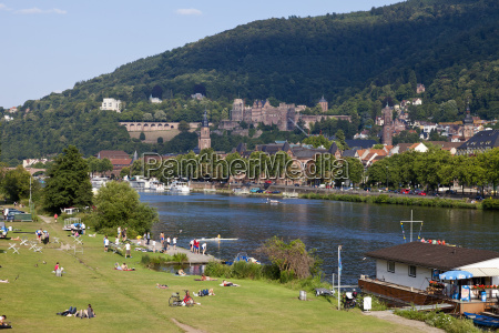 germany baden wuerttemberg heidelberg people on