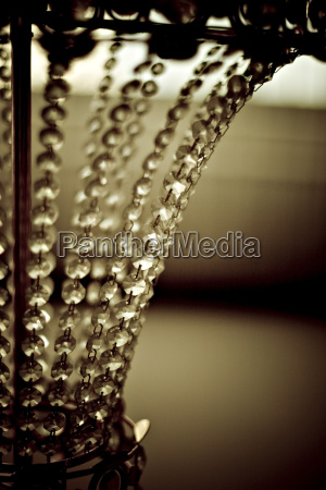 chandelier close up