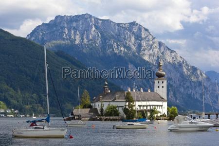 austria upper austria view of castle