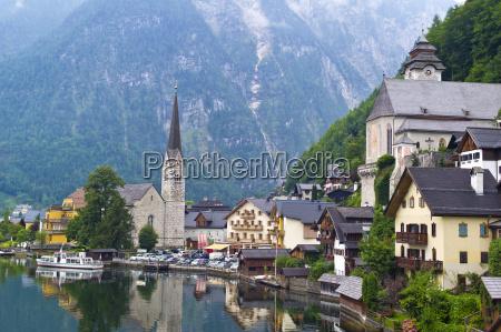 austria upper austria hallstatt view of