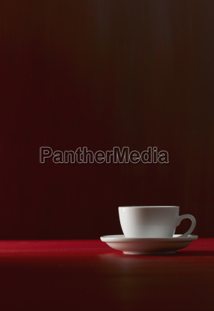 single cup of coffee close up