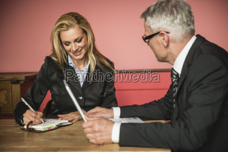 germany stuttgart businessman with laptop while
