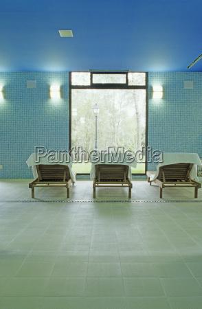 interior of spa