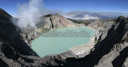 indonesia java kawa ijen volcano