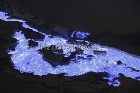 indonesia east java kawah ijen volcano