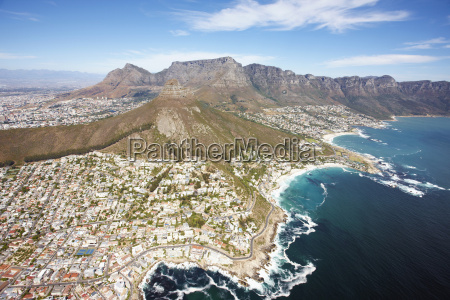 south africa cape town aerial view
