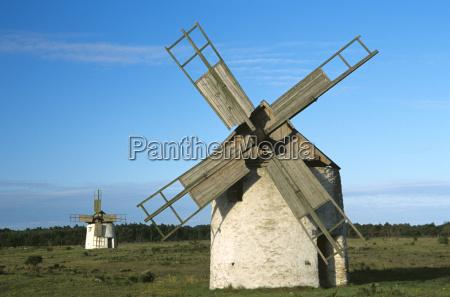 windmills gotland schweden 2004