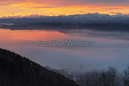 germany view of lake constance and