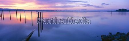 germany lake constance moos sunrise