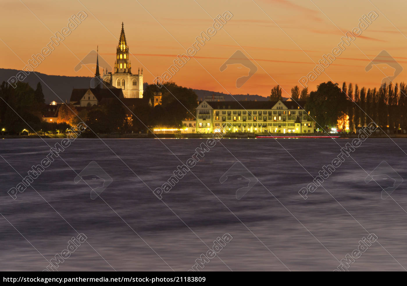 germany, , view, of, lake, constance, with - 21183809