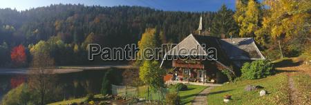 germany baden wuerttemberg schwarzwald wittenschwand lake
