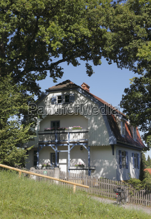 germany bavaria upper bavaria view of