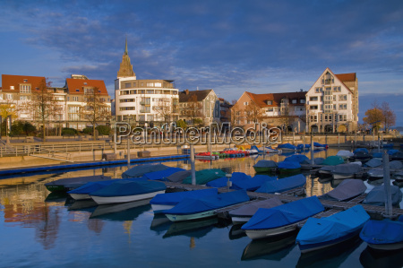 germany baden wuerttemberg friedrichshafen harbour in