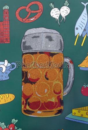 germany munich wall painting