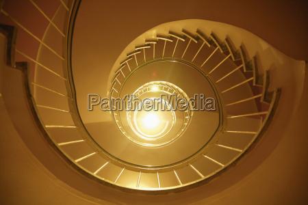 germany bavaria munich spiral staircase