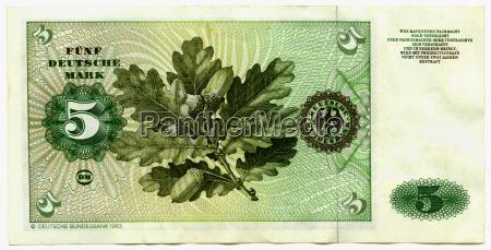 bank note close up