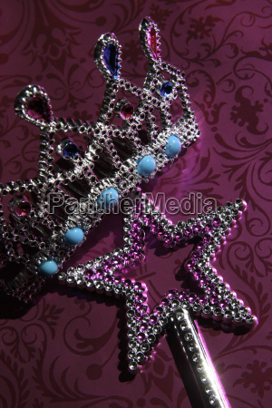 star an crown shaped costume jewellery