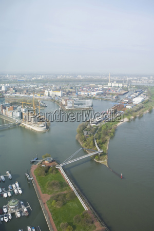 germany north rhine westphalia duesseldorf view