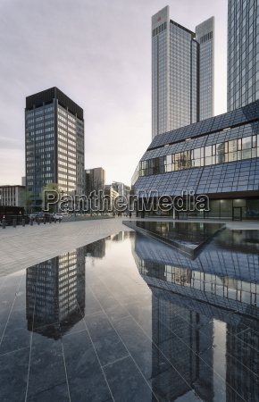 germany hesse frankfurt view of buildings