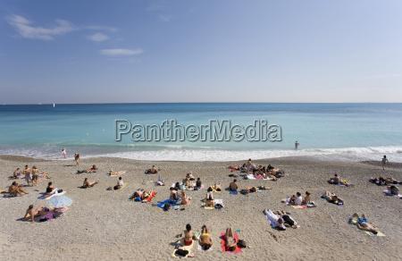 france cote dazur nice beach holiday