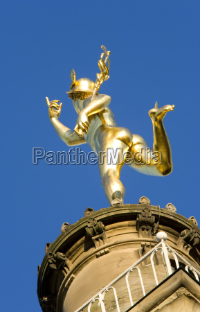 germany baden wuerttemberg stuttgart mercury sculpture