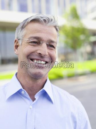 germany baden wuerttemberg stuttgart businessman smiling