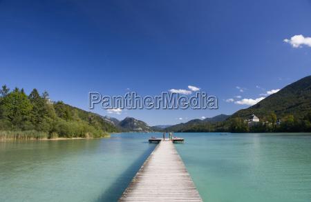 austria fuschl view of beach resort