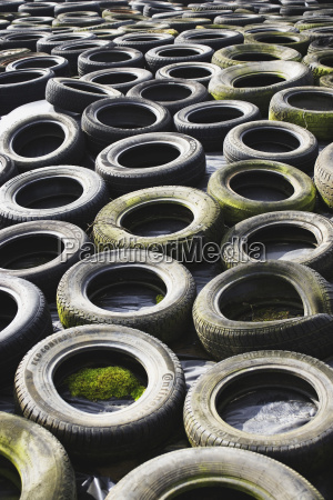 used tires for recycling full frame