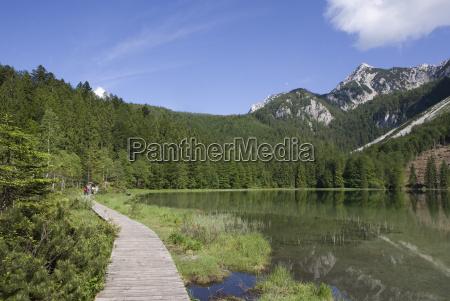 germany bavaria inzell frillen lake