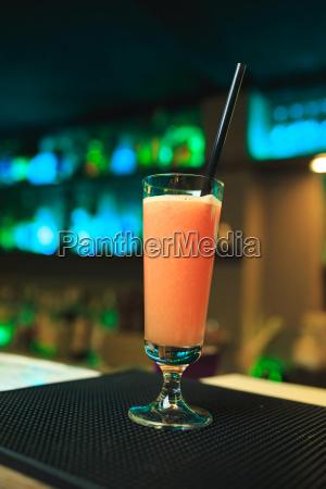 orange cocktail in steamware