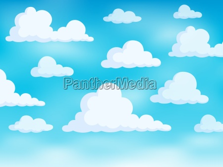 clouds on sky theme 3