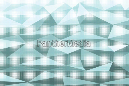 polygon abstract pop art background with