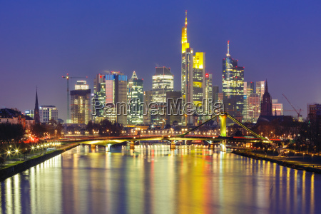 night frankfurt am main germany