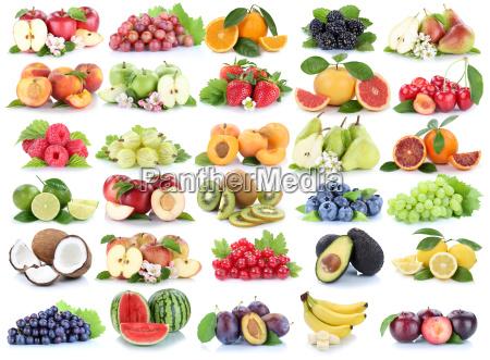 fruit fruit fruit collage fresh apple