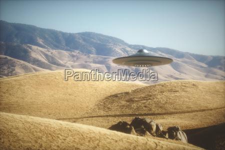 alien spaceship on earth