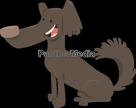 funny dog cartoon animal