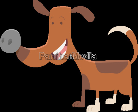 funny spotted dog cartoon